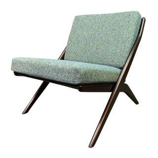 "Vintage Mid Century Modern Folke Ohlsson for Dux ""Scissor"" Chair For Sale"