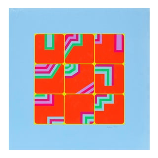 Arthur Boden, Puzzle, Pop Art Abstract Print For Sale