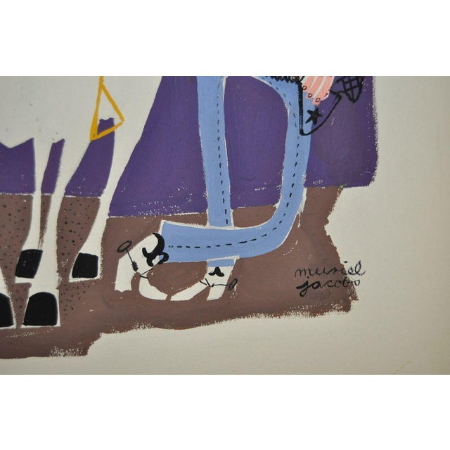 Muriel Jacobs Original Illustration c.1960 - Image 2 of 3