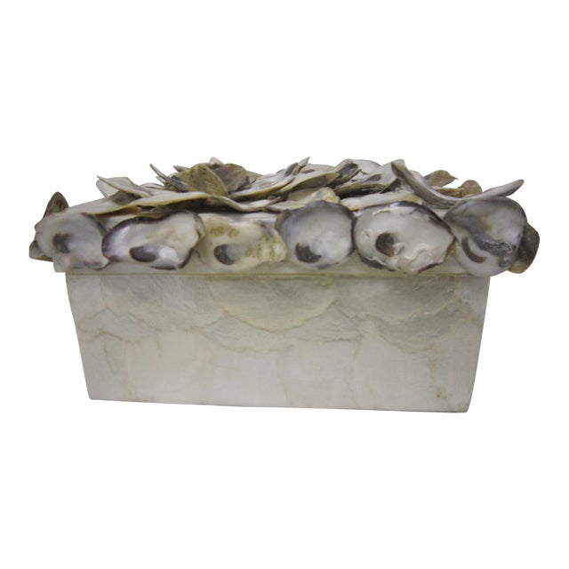 Cadiz & Oyster Shell Box - Image 1 of 6