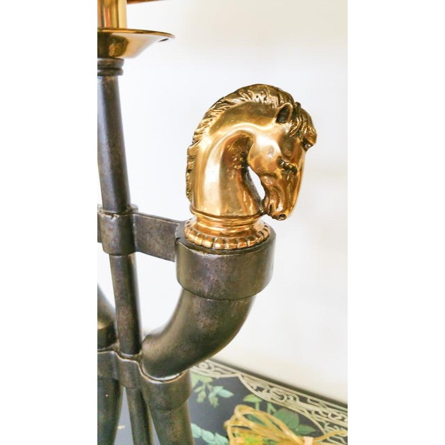 Maitland-Smith Brass Horse Table Lamp - Image 3 of 6