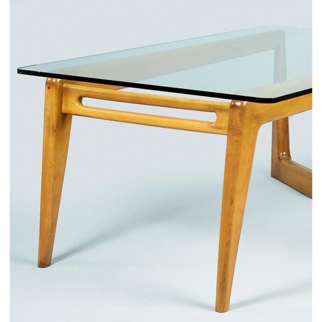 1950s Mid-Century Modern Pierluigi Giordani Biomorphic Dining Table For Sale - Image 11 of 13