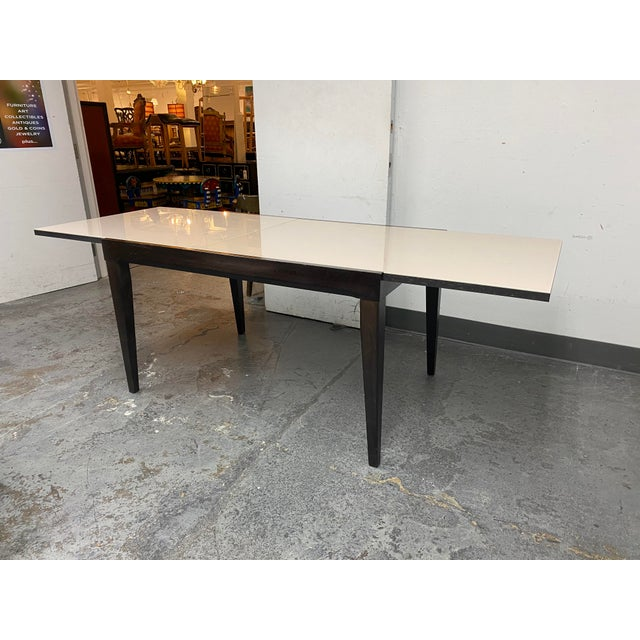 Calligaris Extendable Dining Table + Six Chairs Set For Sale In San Francisco - Image 6 of 13