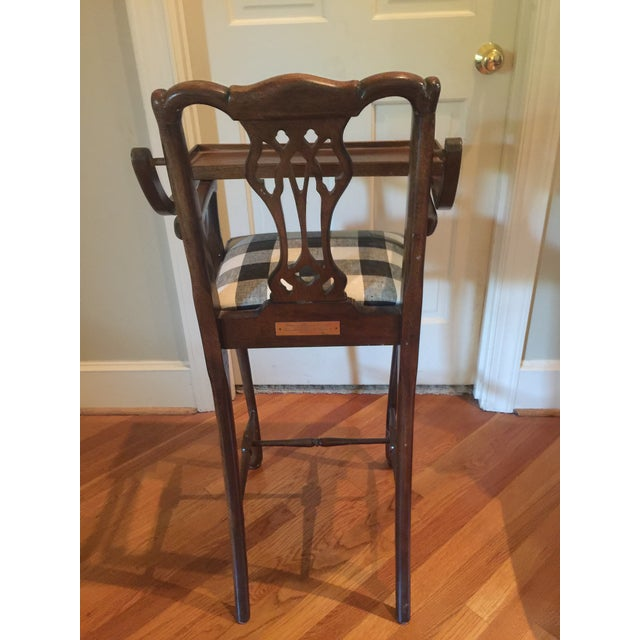 Antique Chippendale High Chair - Image 4 of 4 - Antique Chippendale High Chair Chairish
