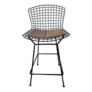 20th Century Vintage Knoll Bertoia Wire Barstool For Sale