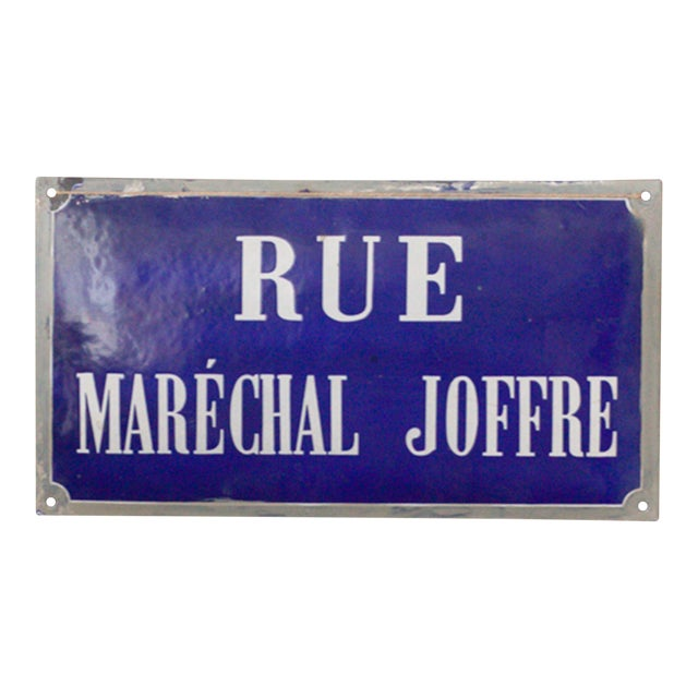 French Enamel Street Sign - Image 1 of 4