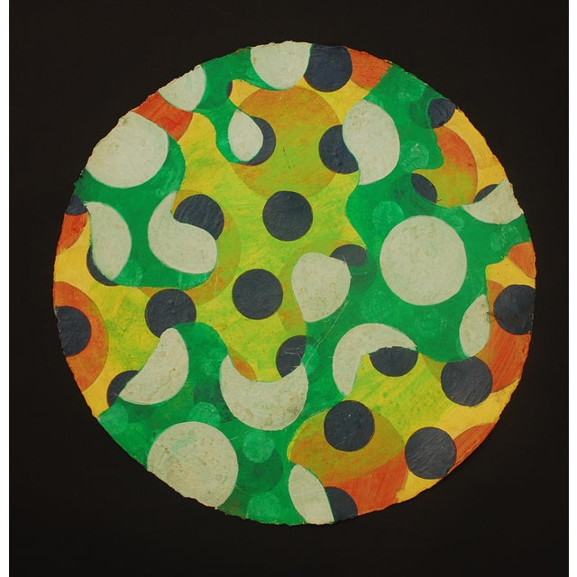 Tondo 1 Abstract Painting - Image 2 of 4