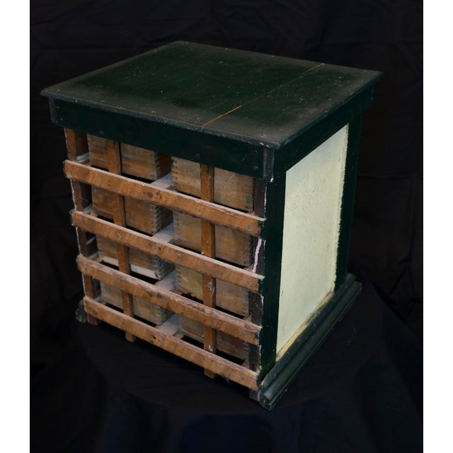 Miniature Green Organizer With Dog Liners For Sale - Image 4 of 7
