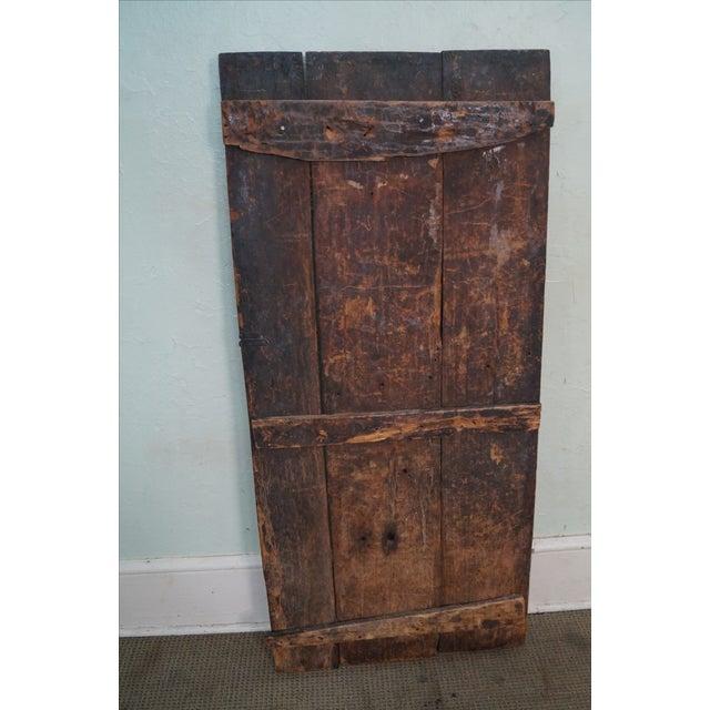 Tribal African Dogan Door (C) For Sale - Image 4 of 10