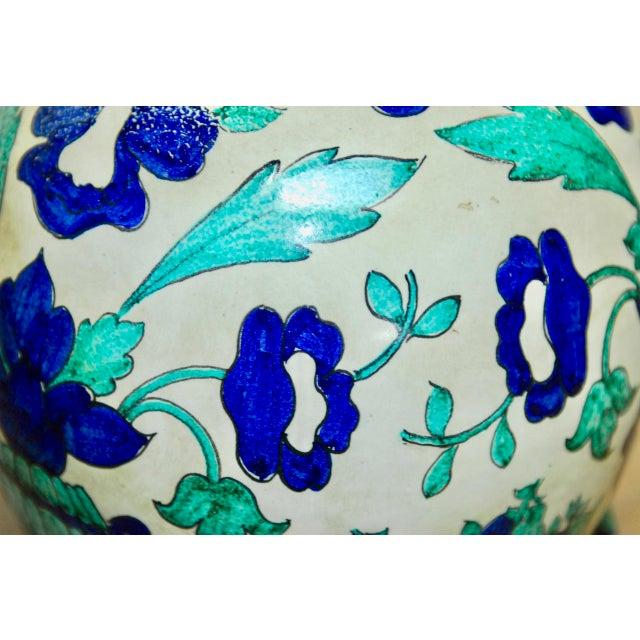 Marbro Italian Ceramic Faience Table Lamp - Image 7 of 9