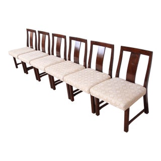 Edward Wormley for Dunbar Mid-Century Modern Dining Chairs - Set of 6 For Sale