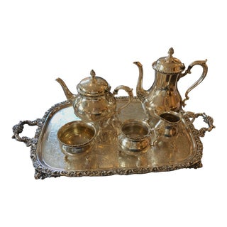 Wilcox Silver Plated Tea/Coffee Set For Sale