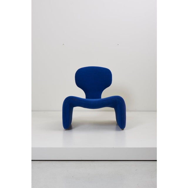Djinn chair and ottoman by Olivier Mourgue for Airborne. An iconic piece, as chosen by Stanley Kubric for 2001 a Space...