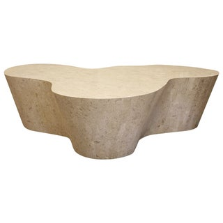 Amorphic Tessellated Stone Coffee Table