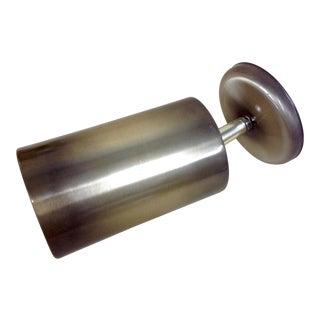 Mid-Century Ejs Lighting Spun Aluminum Sconce