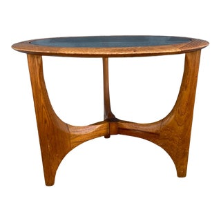 Lane 'Silhouette' Round Side Table For Sale