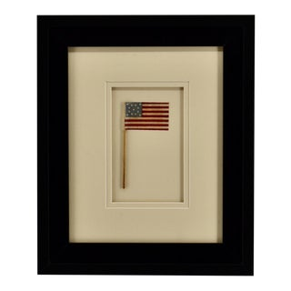 Antique 13 Star American Flag Circa 1876 For Sale