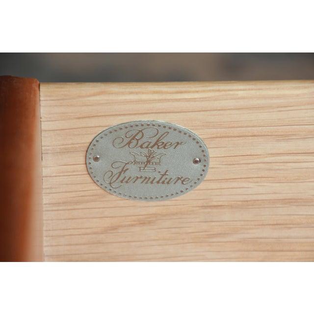 Baker Furniture Art Deco Style Burlwood Armoire - Image 10 of 11