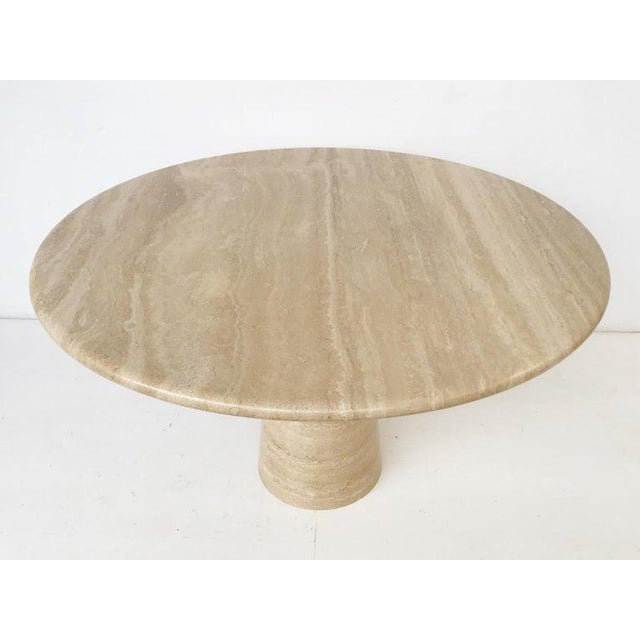 Mid-Century Modern Dining Table in Style of Angelo Mangiarotti For Sale - Image 3 of 6