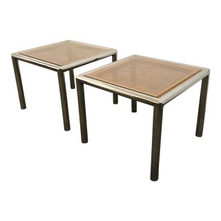 Mid-Century Modern Milo Baughman End Tables - a Pair For Sale