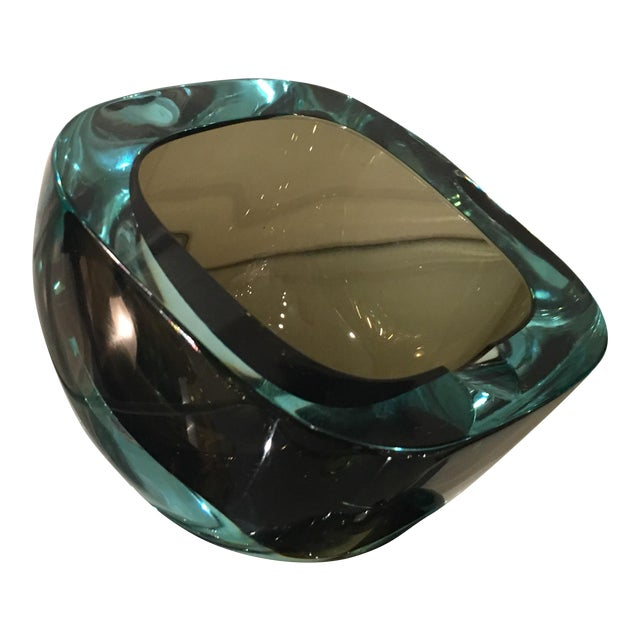 Vintage Murano Italian Art Glass Ashtray - Image 1 of 5