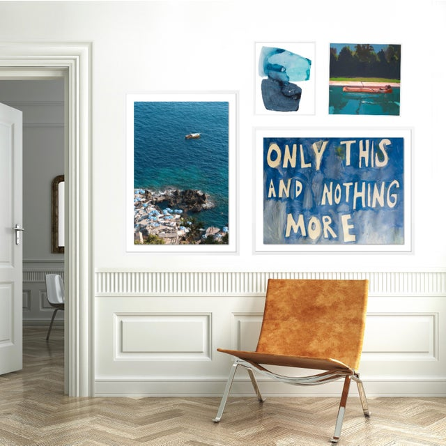 Contemporary Portofino Gallery Wall, set of 4 For Sale - Image 3 of 9