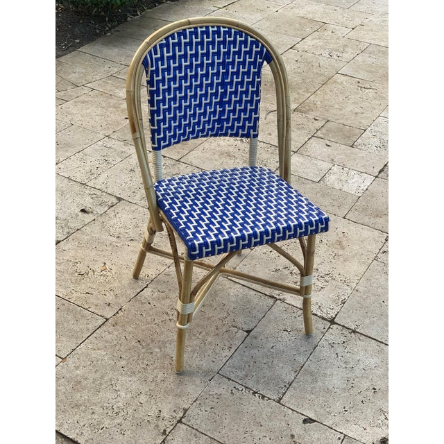 French French Bistro Indoor / Outdoor Chairs - Set of 10 For Sale - Image 3 of 5
