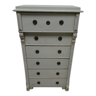 6 Drawer Swedish Chest For Sale