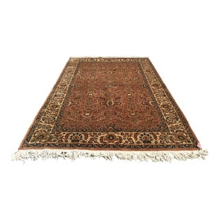"""Romanian Wool Rug 79"""" X 115"""" For Sale"""