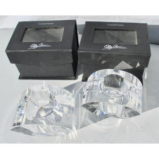 Oleg Cassini Crystal Votive Candle Holders Preview