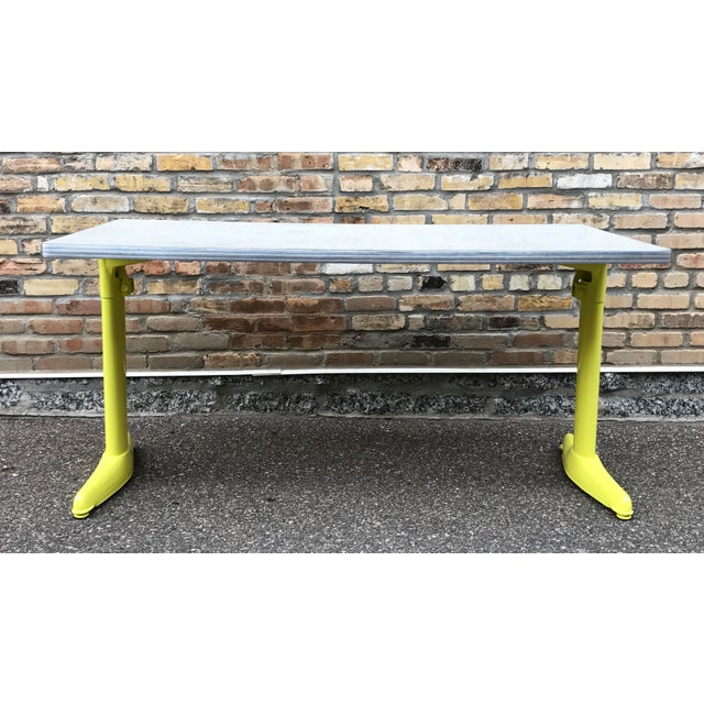 Vintage Industrial American Seating Co. Dining Table - Image 7 of 11