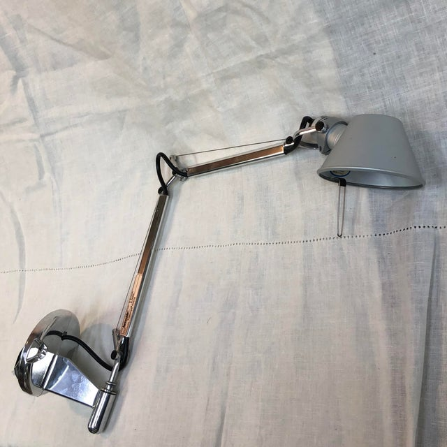 Silver Artemide Tolomeo Micro Wall Lamp For Sale - Image 8 of 8
