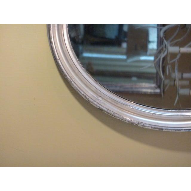 Oval Silverleaf Mirror - Image 3 of 4
