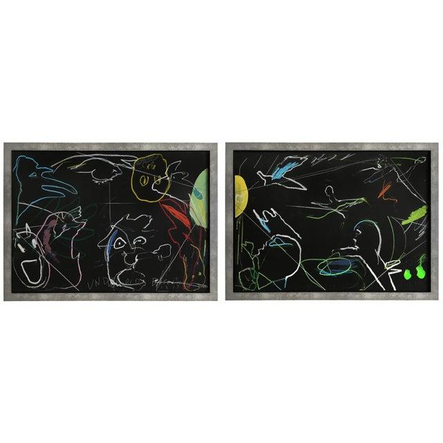 """Designer: James C. Harrison (1925 - 1990) USA - Circa 1988 Dimensions: 31.25"""" H x 42.75"""" W x 1.5"""" D Condition: Excellent...."""