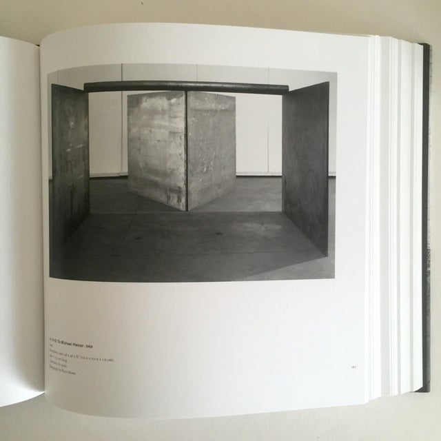 """""""Richard Serra Sculpture : Forty Years """" Rare Moma Exhibition Hardcover 1st Edtn Book For Sale - Image 5 of 10"""