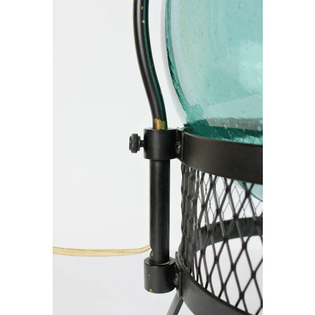 Mid-Century Japanese Fishing Float Lamp For Sale - Image 11 of 13
