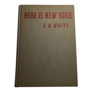 "1949 ""Here Is New York"" by E. B. White"
