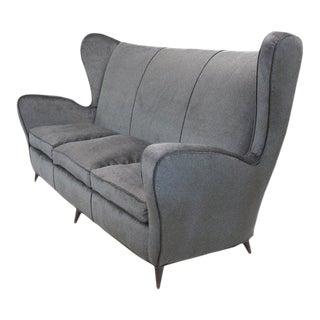 Sculptural Italian Sofa For Sale