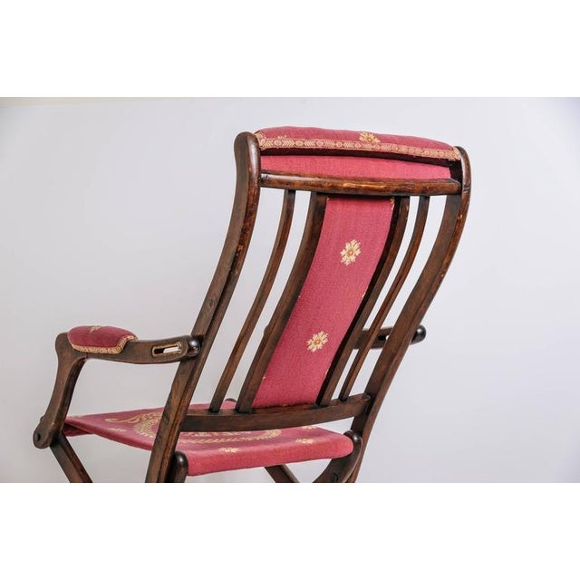 19th Century, French, Napoleonic Campaign Style Folding Chair - Image 2 of 9