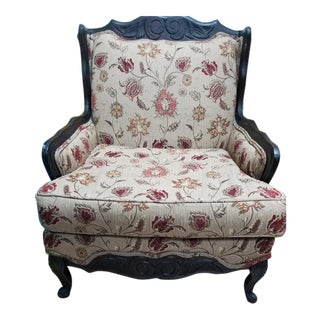 Ethan Allen Chippendale Style Ball & Claw Side Chair For Sale