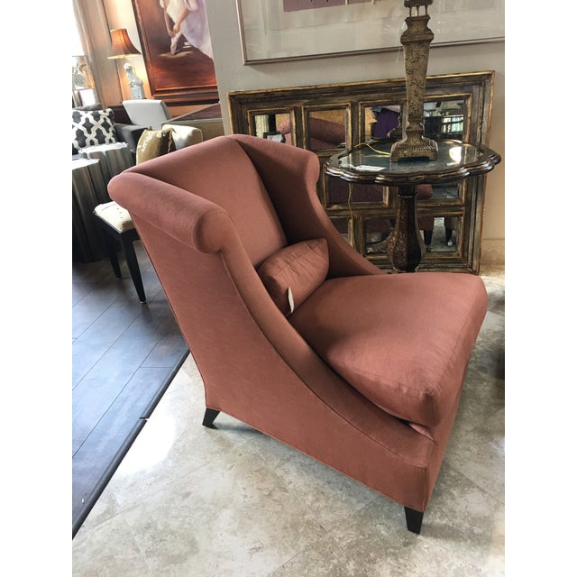 Baker Furniture Villa Club Chairs by Thomas Pheasant - a Pair For Sale - Image 10 of 11