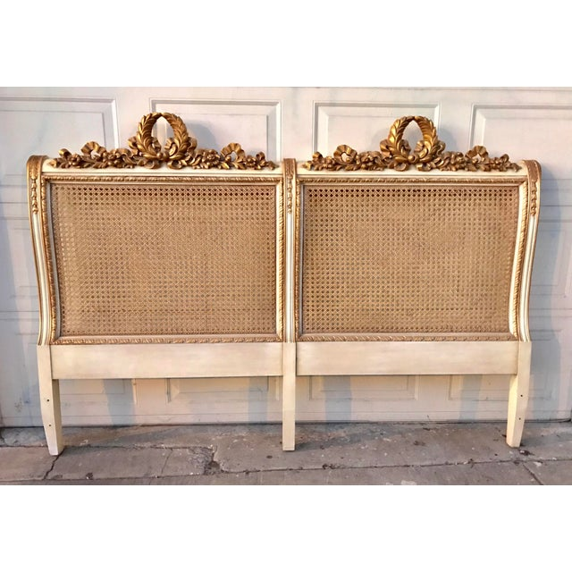 Karges Louis XVI Headboard - Image 5 of 5