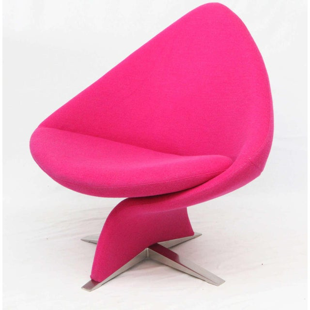 Unusual Danish lounge chair. Note: I have a matching second chair in case you need a pair. Store formerly known as ARTFUL...
