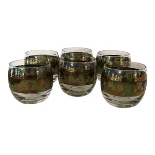 Cera Mid-Century Roly Poly Glasses - Set of 6