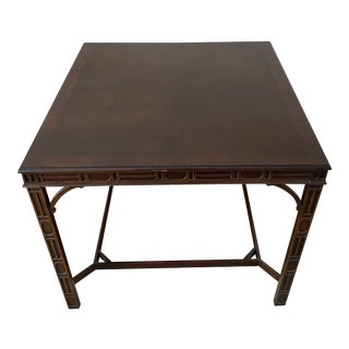 Hekman Wellington Hall Chippendale Table For Sale