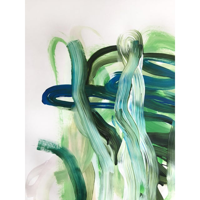 Abstract Free Your Heart Jessalin Beutler Original Painting For Sale - Image 3 of 6