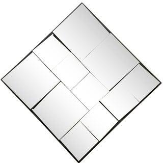 1970's Vintage Diamond Slopes Mirror For Sale