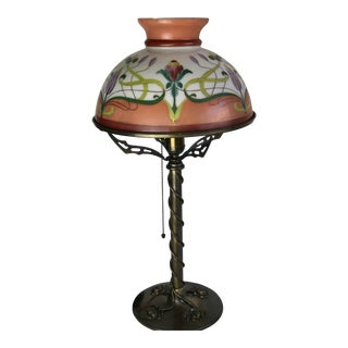 American Art Nouveau Table Lamp For Sale