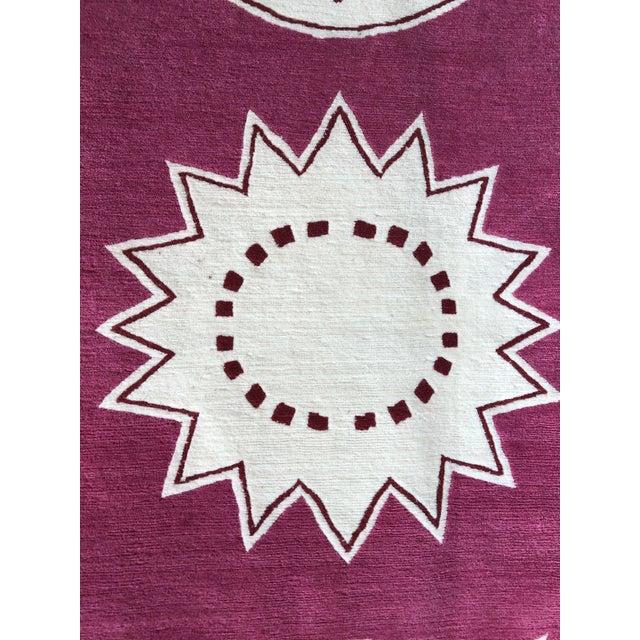 "Madeline Weinrib Madeline Weinrib Hand-Knotted Tibetan Wool ""Medina"" Rug For Sale - Image 4 of 6"