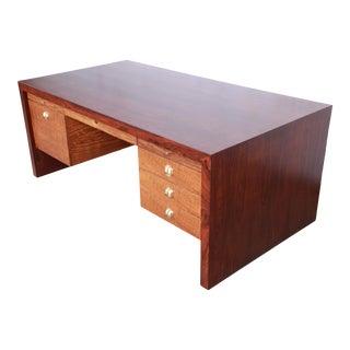 Edward Wormley for Dunbar Rosewood Executive Desk For Sale